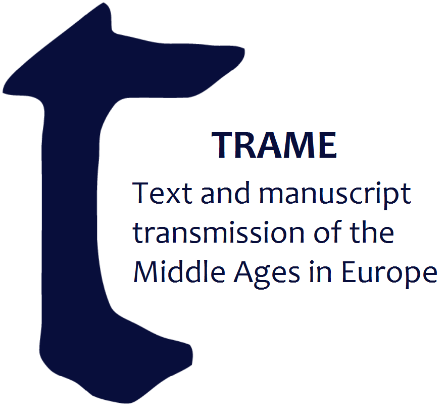 TRAME: text and manuscript transmission of the Middle Ages in Europe